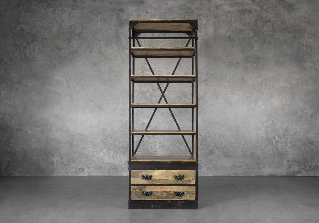 Library Small Bookcase, Front