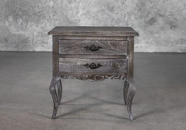 Monarch Night Table, Front