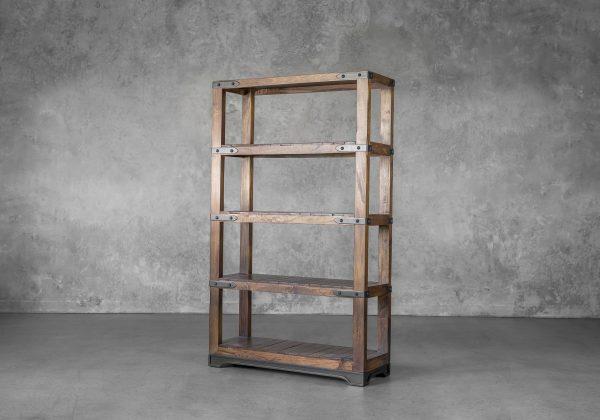 Parota Bookcase, Angle