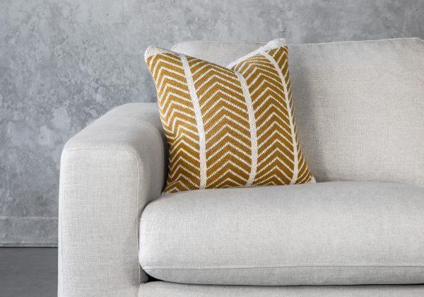 ZIGZAG Mustard Pillow 20 x 20