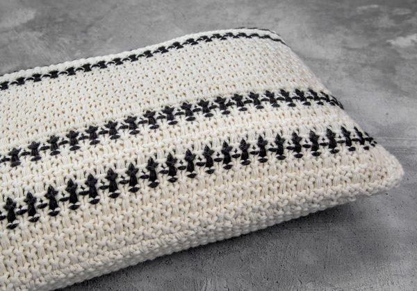 Aztec Pillow 12 x 20, Close Up