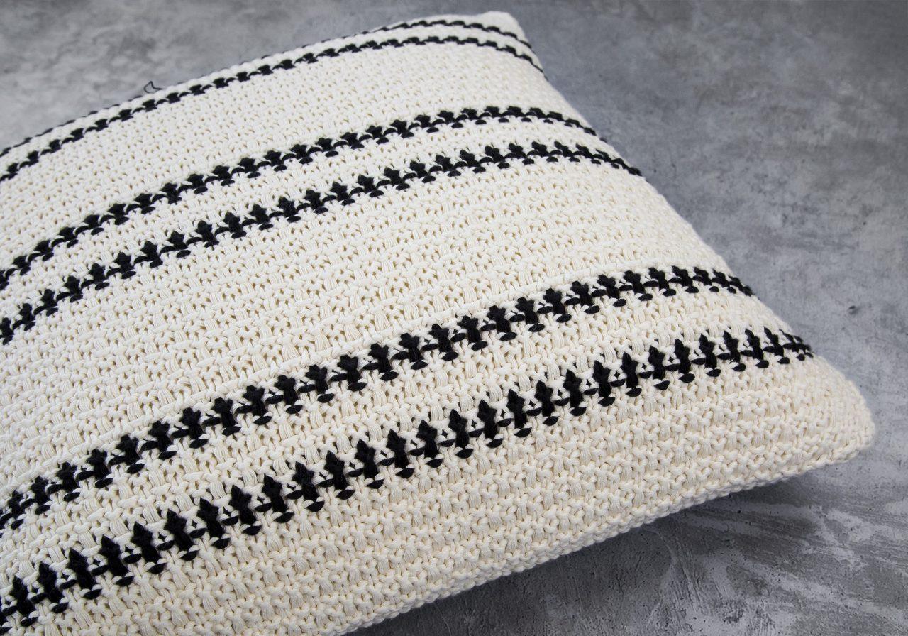 Aztec Pillow 20 x 20, Close Up