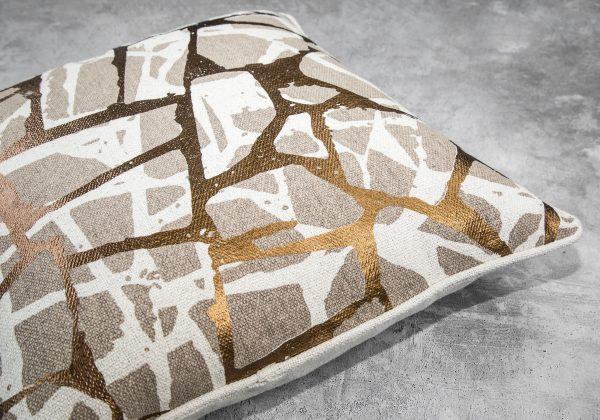 Brio Copper Pillow 20 x 20, Close Up