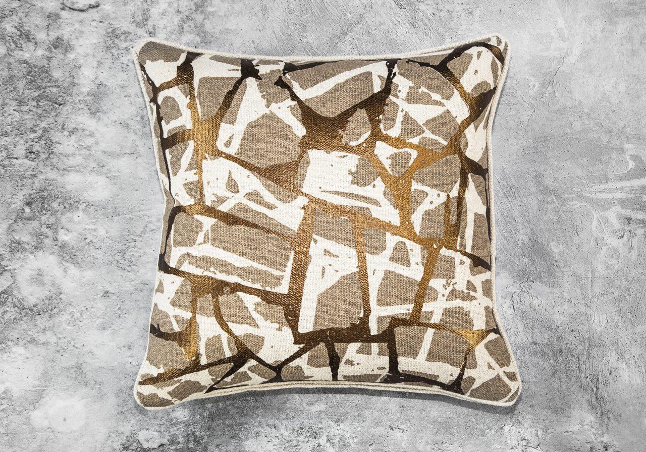 Brio Copper Pillow 20 x 20, Top