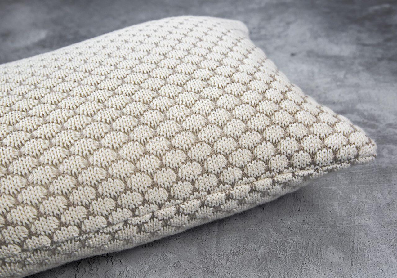 Dia Nat Toss Pillow 12 x 20, Close Up