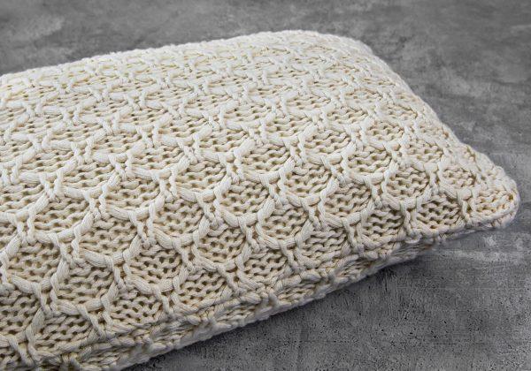 Enfield Nat Pillow 12 x 20, Close Up