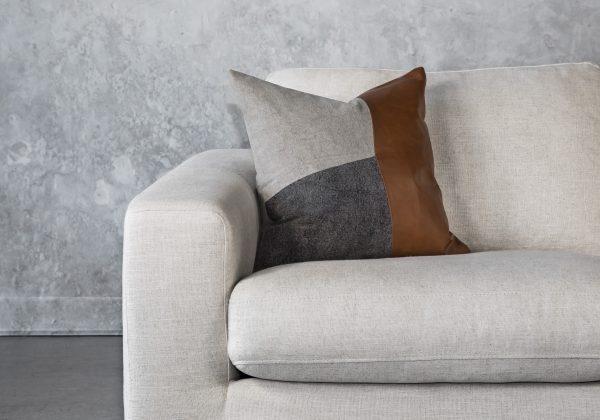 Feltan Leather Pillow 20 x 20