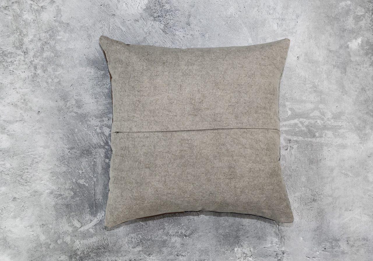 Feltan Leather Pillow 20 x 20, Back