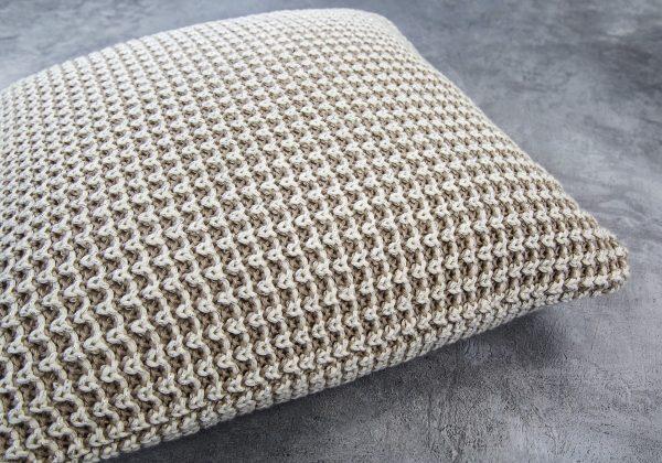 Harlow Nat Pillow 20 x 20, Close Up