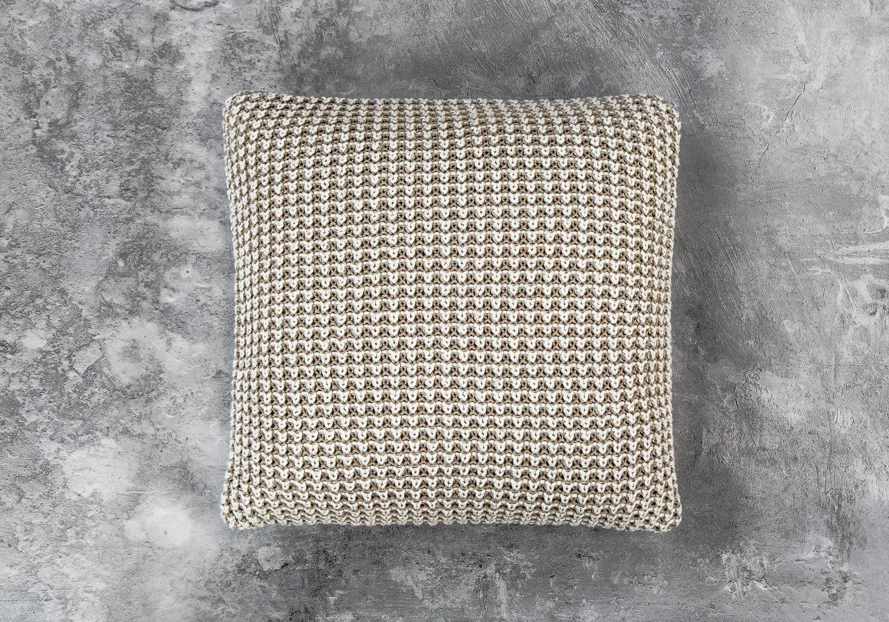 Harlow Nat Pillow 20 x 20, Front
