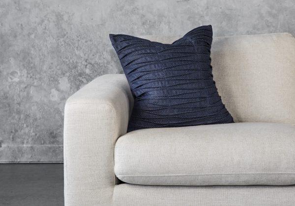 Herring Blue Pillow 20 x 20