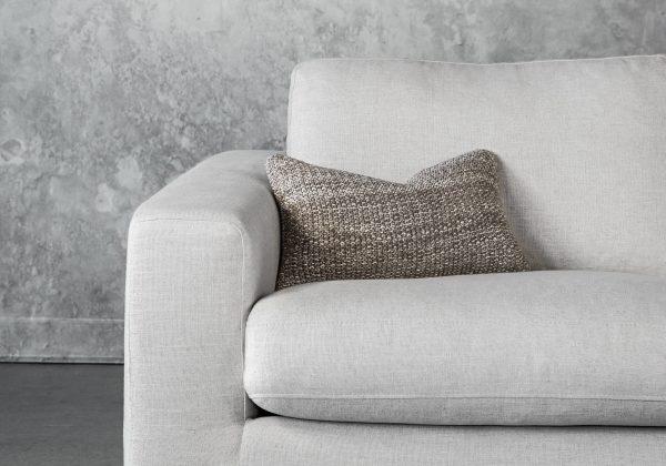 Marl Stone Pillow 12 x 20