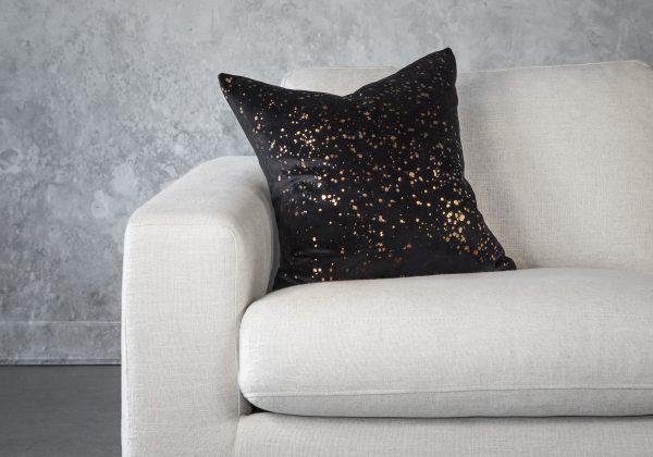 Metallic Black Pillow 20 x20