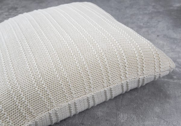 Stripe Nat Pillow 20 x 20, Close Up