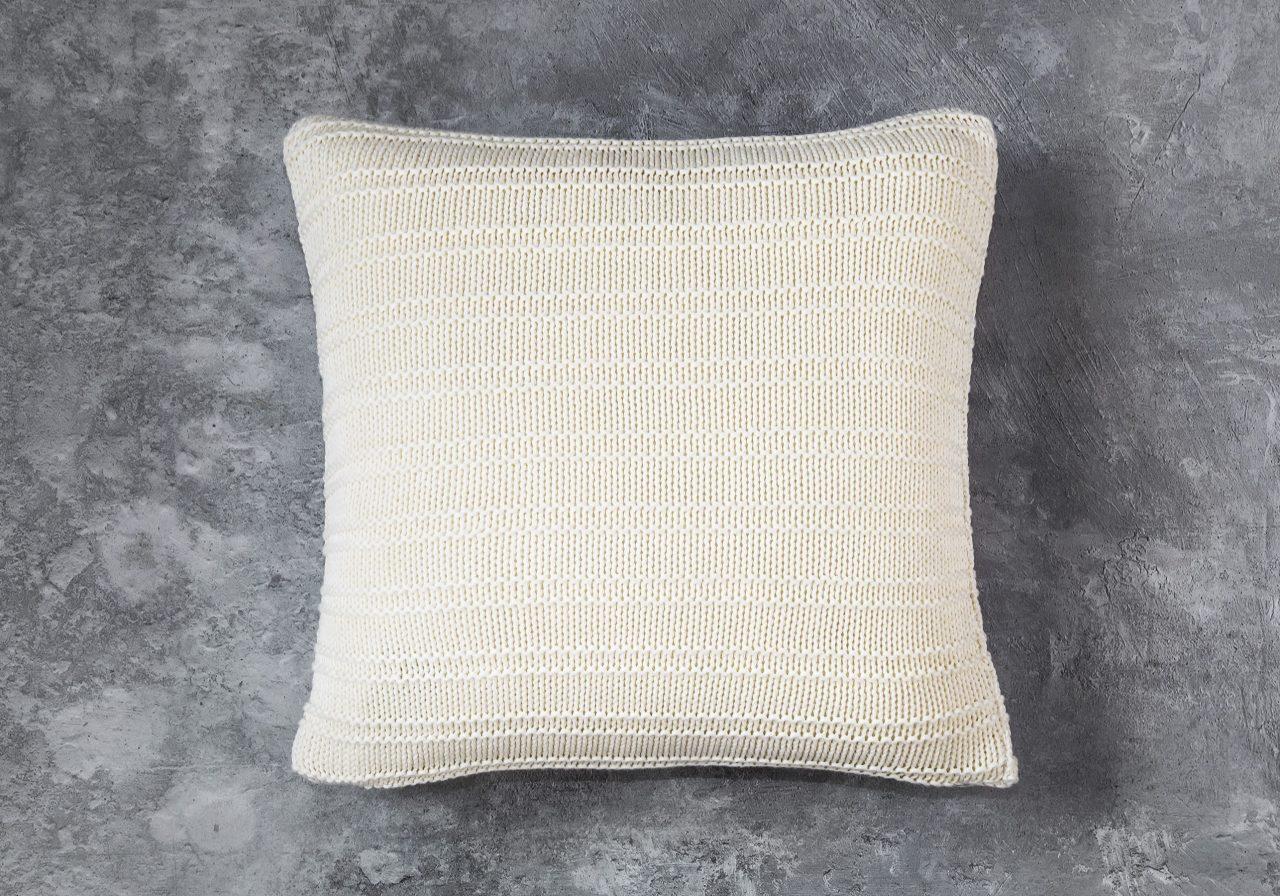 Stripe Nat Pillow 20 x 20, Top