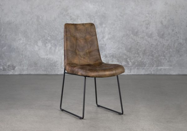 Desso Dining Chair, Angle