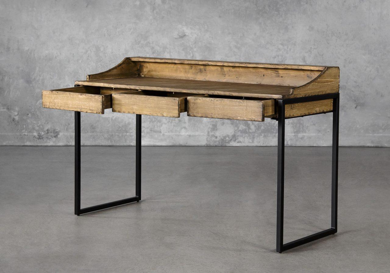 Smith Desk, Angle, Open