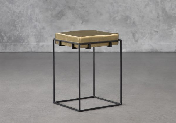 Crate End Table, Angle