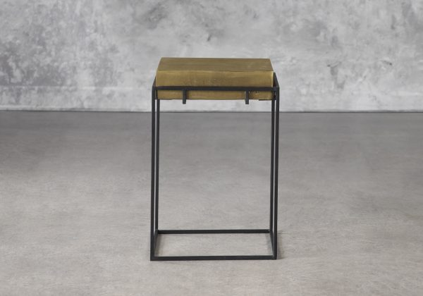 Crate End Table, Front
