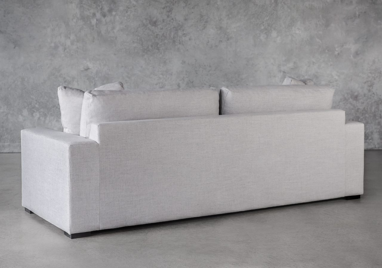 Vermont Sofa in Grey Fabric, Back
