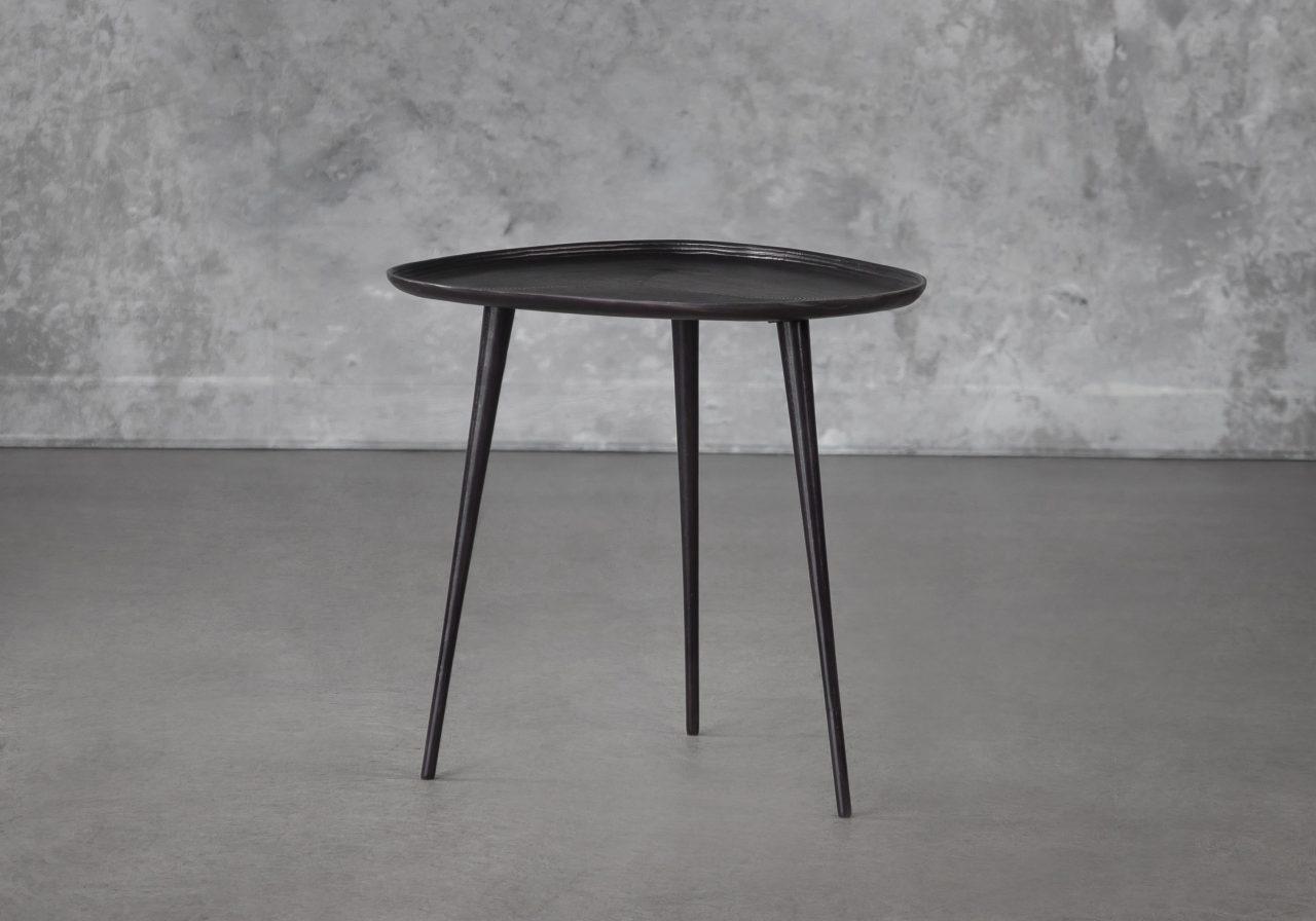 Mana End Table Large, Angle