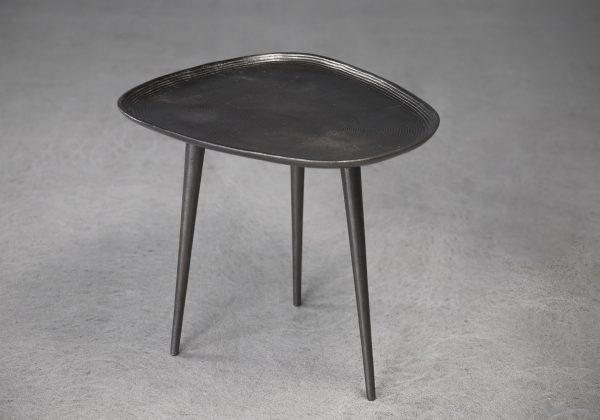 Mana End Table, Small, Top, Angle