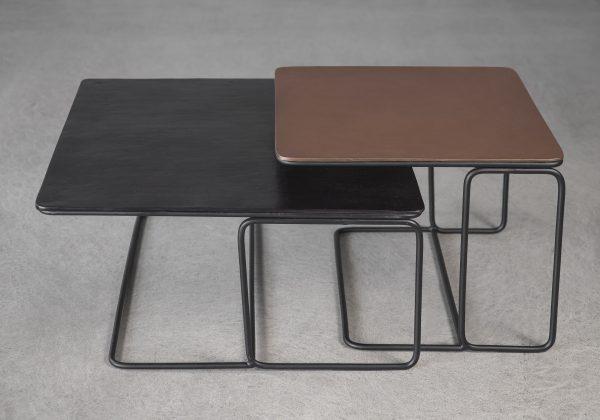 Reed Coffee Table, Angle, Top