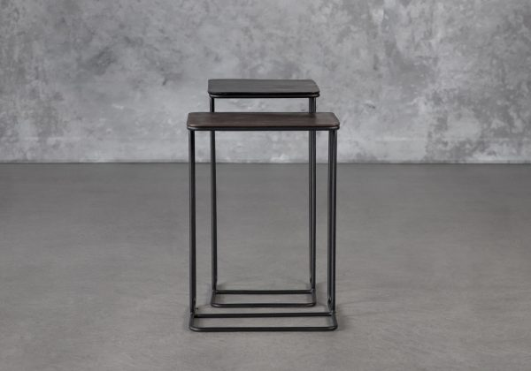 Reed End Table, Front