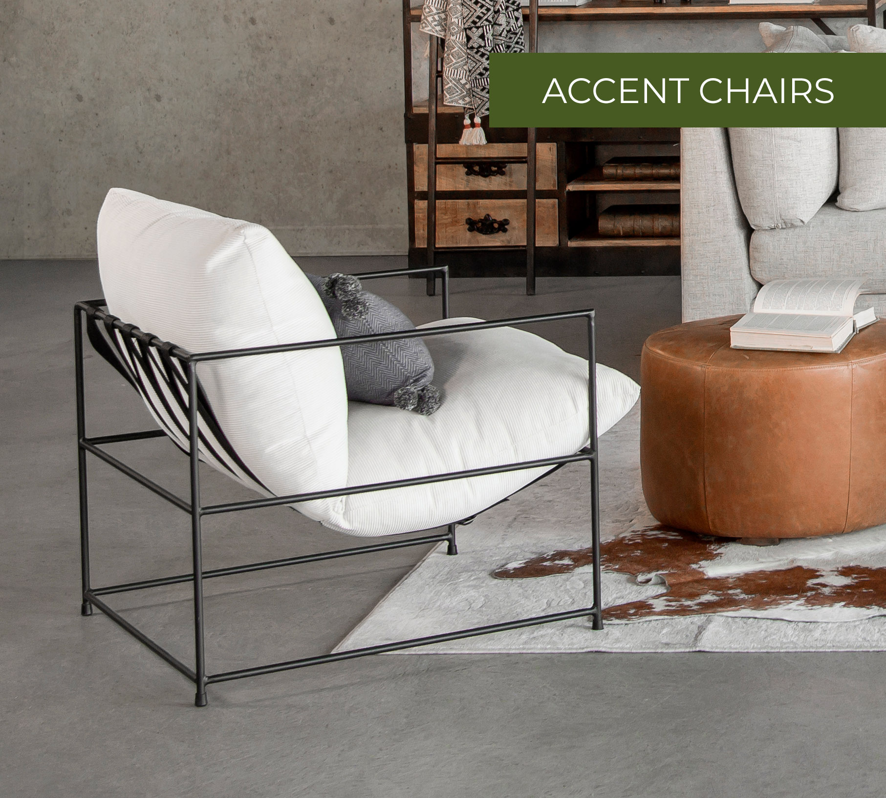 Accent Chairs at Muse & Merchant