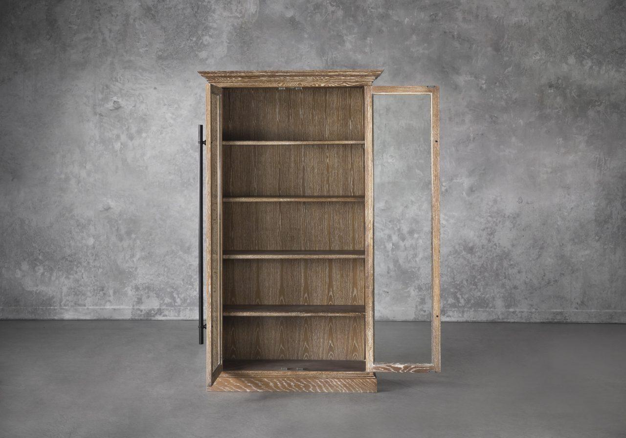 Wicklow Cabinet, Front, Door Open