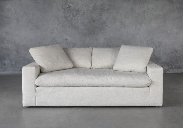 Austin Small Sofa in Pearl, Front, 2