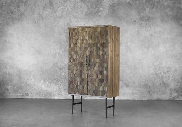 Orla Wine Cabinet, Angle