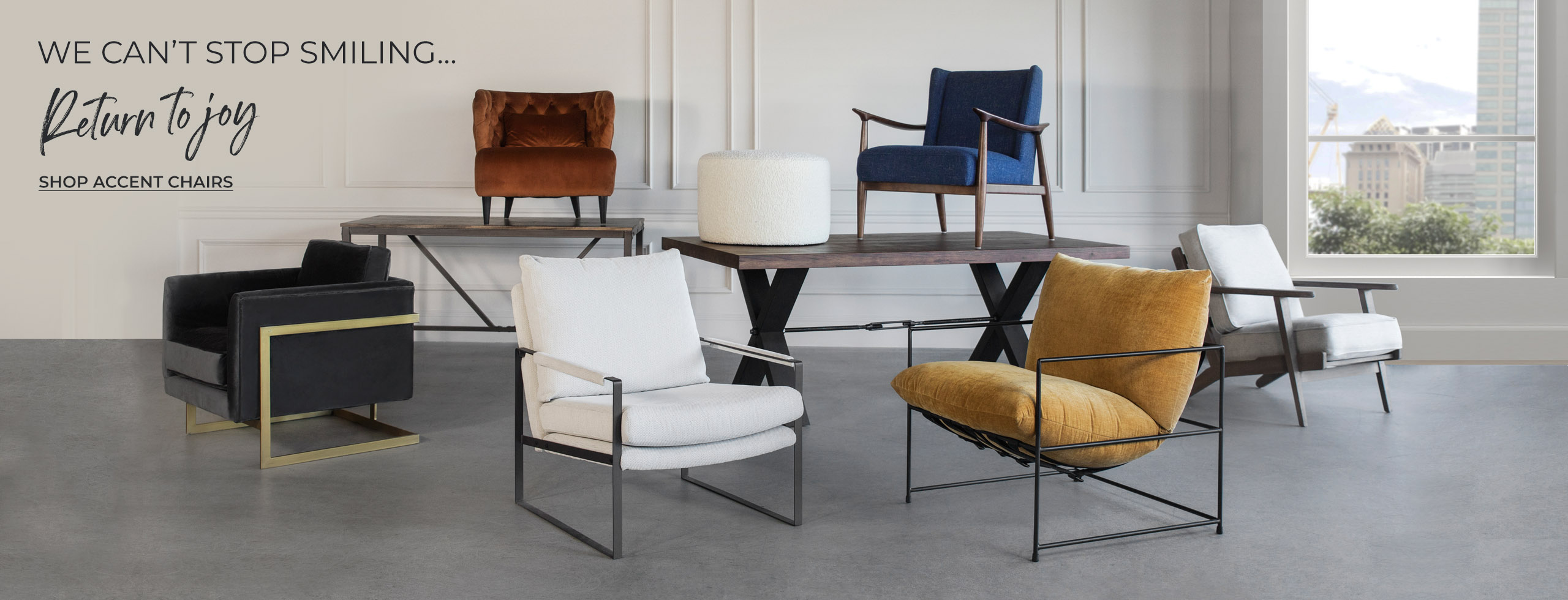 Muse and Merchant - Return to Joy - Accent Chairs