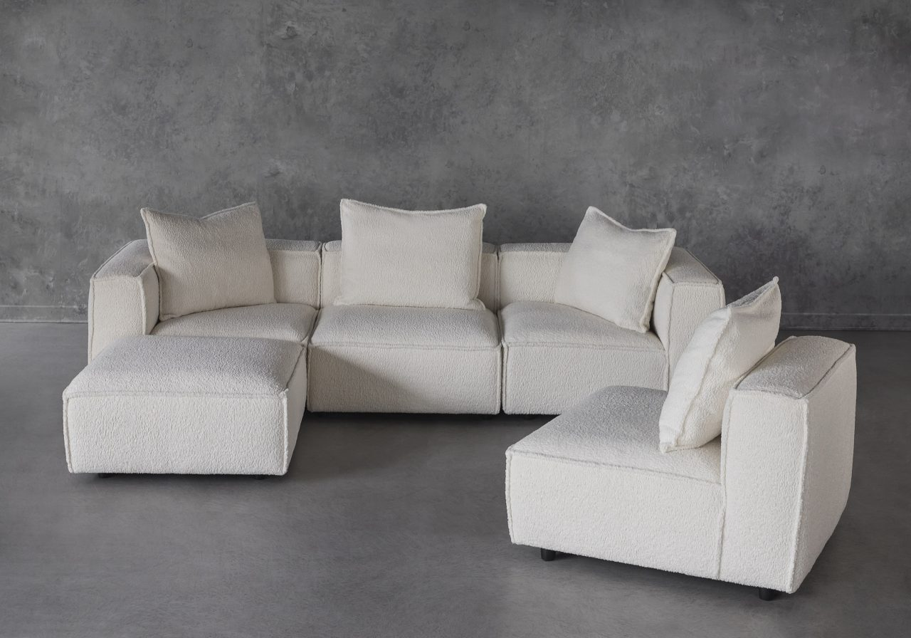 Shauna Sectional, Formation, Option 8