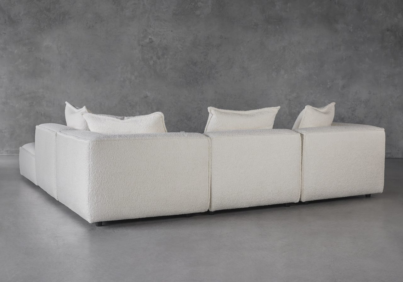 Shauna Sectional in Natural, Back