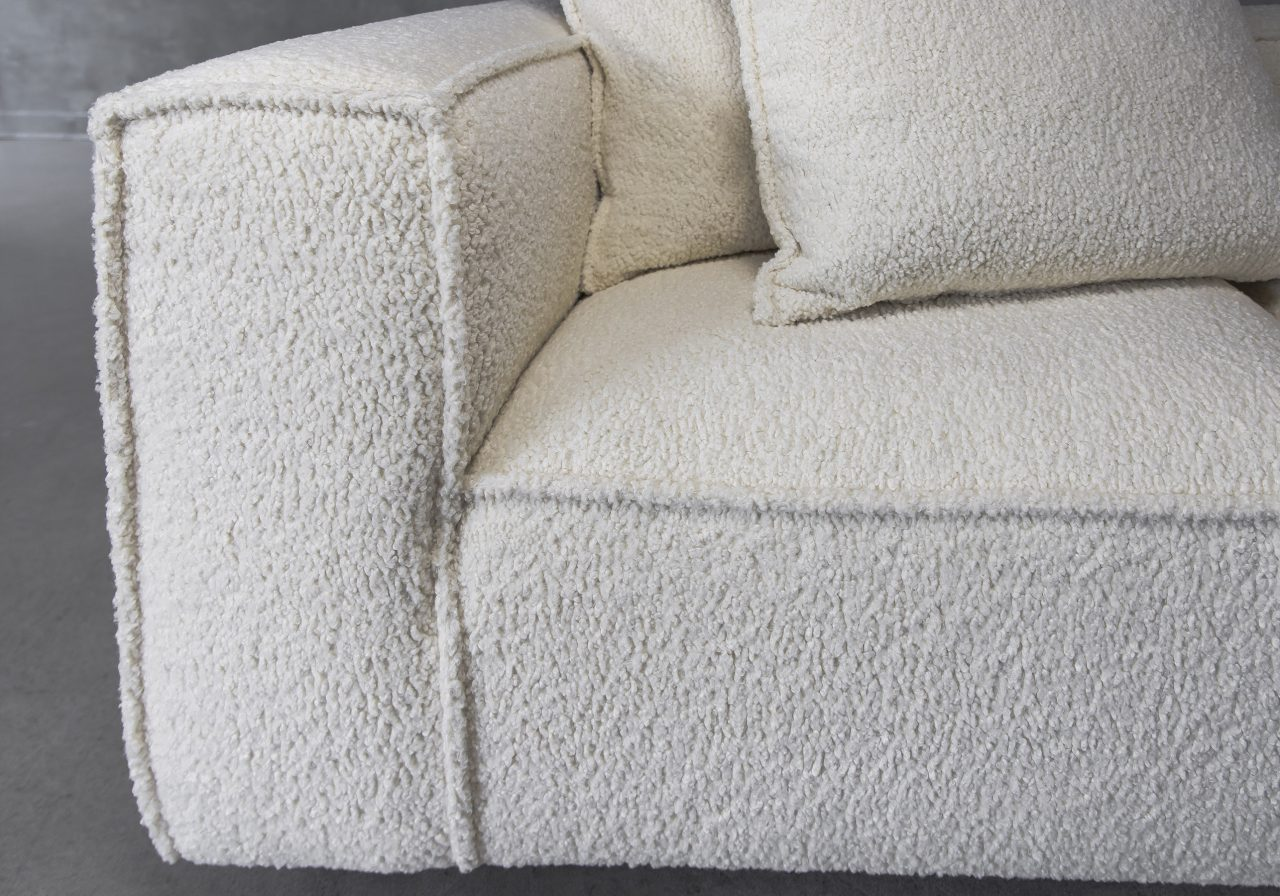 Shauna Sectional in Natural, Close Up