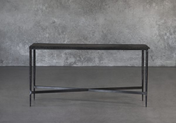 Slate Console Table, Front