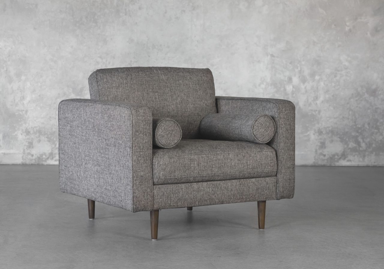 Cooper Chair in Pebble, Angle