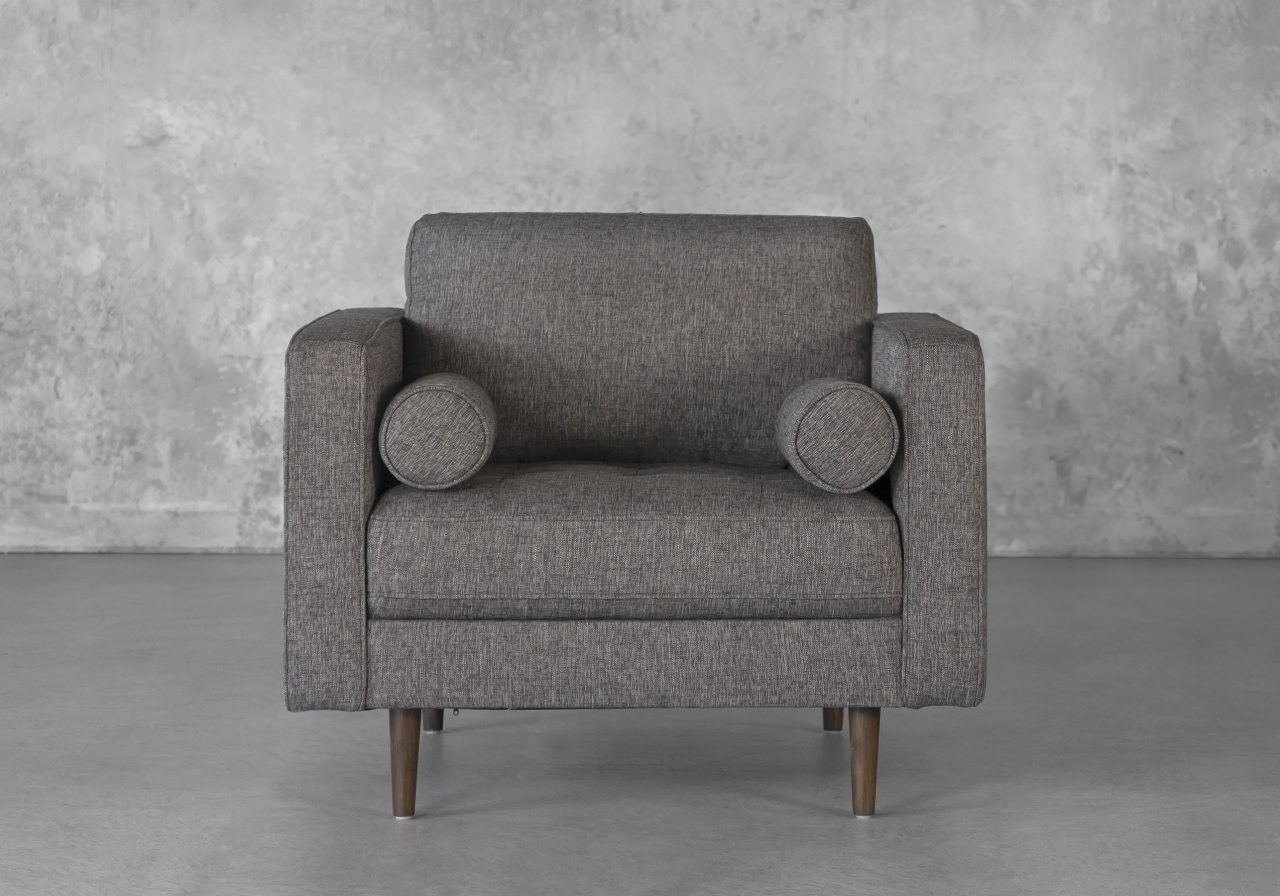 Cooper Chair in Pebble, Front
