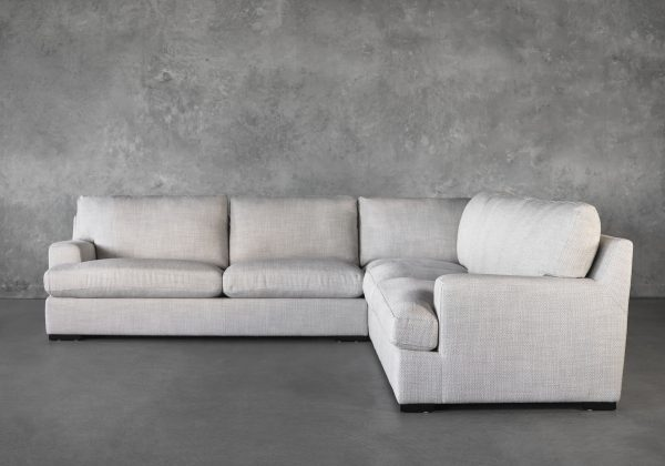 Nino Sectional in Stucco, Front