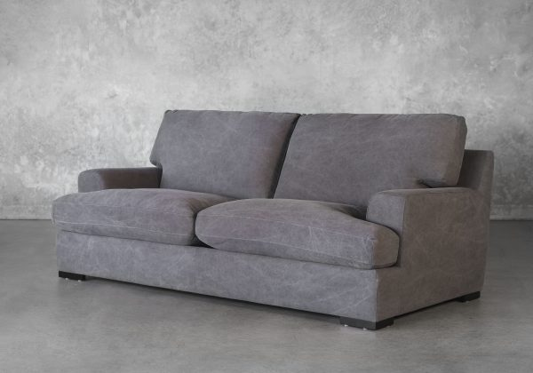 Nino Sofa in Dark Grey, Angle