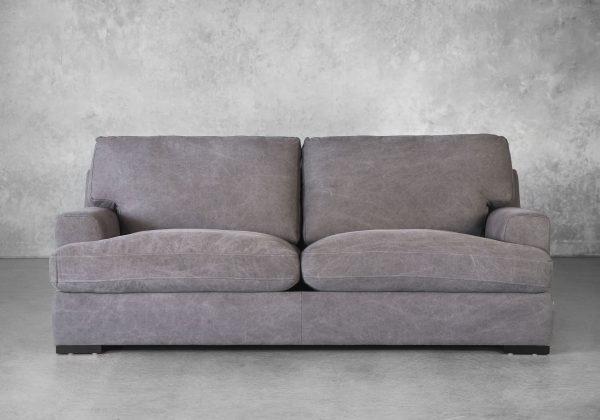 Nino Sofa in Dark Grey, Front
