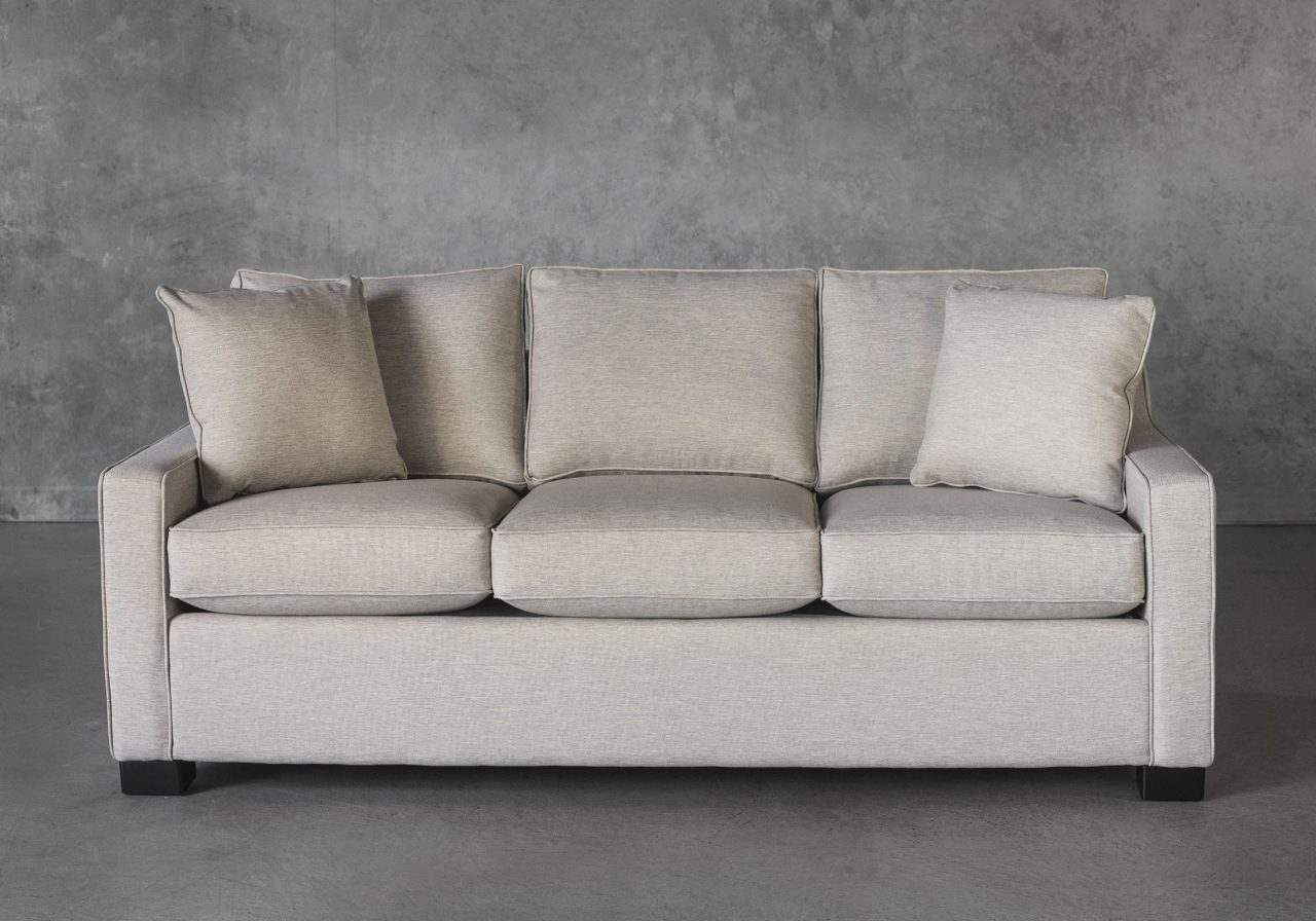 Milo Sofabed in Vanilla, Front