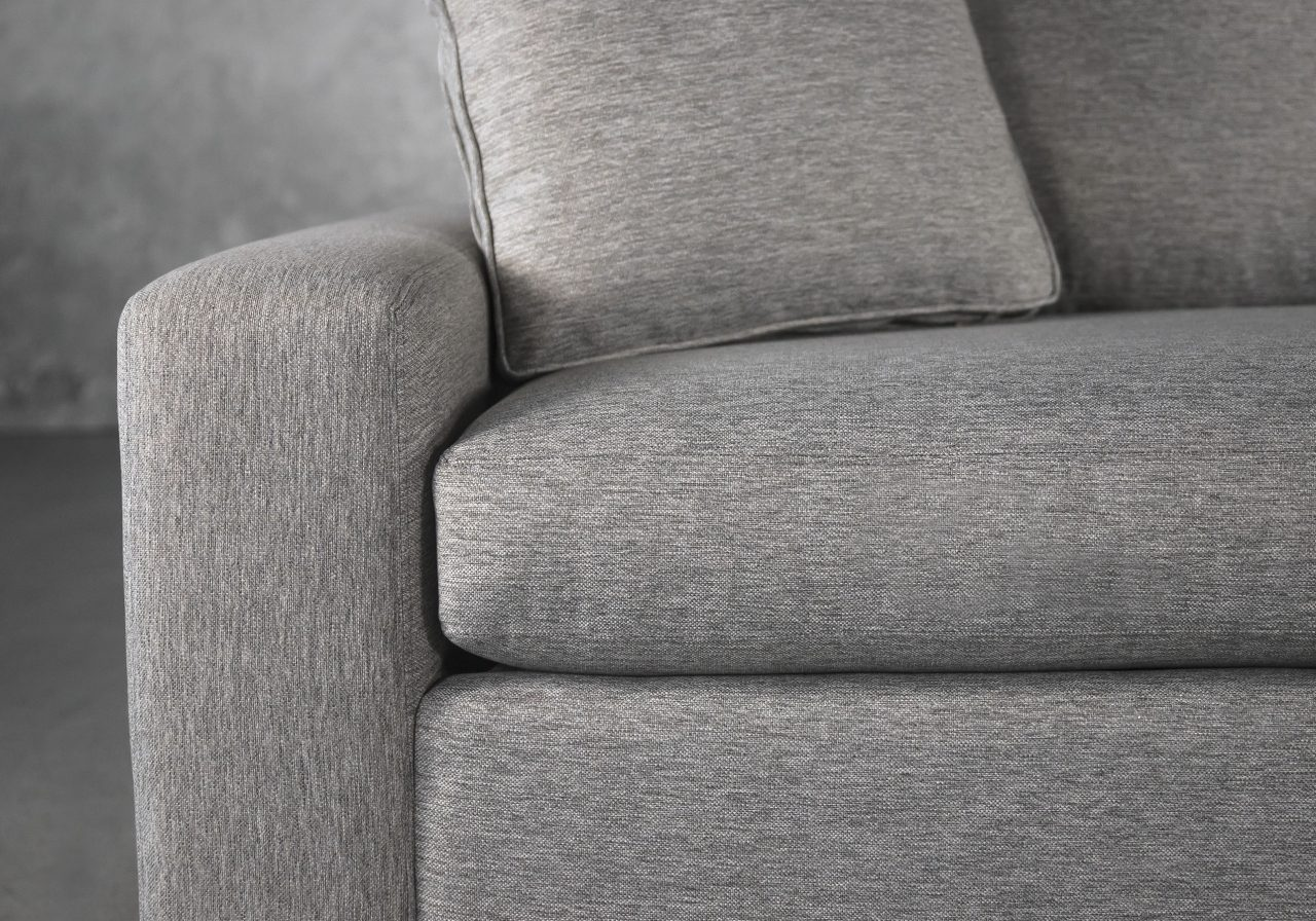 York SofaBed in Shell, Bed Open, Close Up